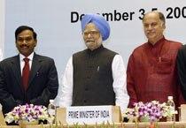 PM inaugurates India Telecom 2009