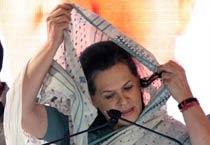 Sonia Gandhi's journey