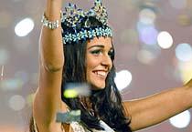 Miss Gibraltar wins Miss World