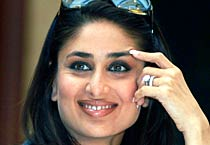 Kareena in different moods