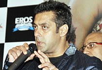 Salman at <em>Veer</em> music launch