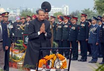 Gehlot pays tribute to martys