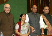 Sushma named Leader of Opposition