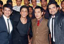 Khans get together for <em>3 Idiots</em>
