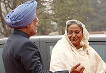 Sheikh Hasina on India visit