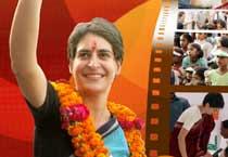 Priyanka Gandhi turns calendar girl