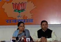 Vasundhara Raje slams Gehlot govt
