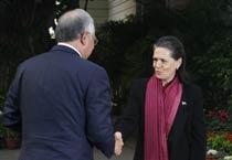 Malaysian PM meets Sonia Gandhi