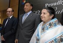 Lakshmi Mittal in Mumbai