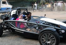 Gautam Singhania takes a spin in Aerial Atom 3