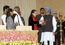 PM, Sonia at NREGA Sammelan