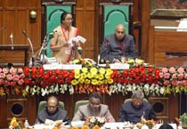 Meira Kumar addresses MP Assembly