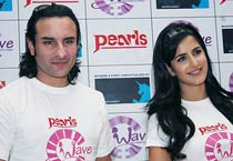 Saif, Kat, Harman together for a cause