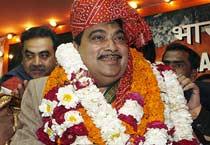 Gadkari becomes BJP president