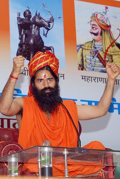 Baba Ramdev visits Jaipur