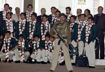 Pakistan arrive for hockey WC