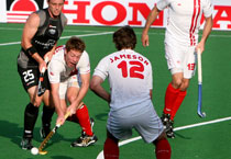 New Zealand vs Canada at hockey WC