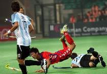 HWC: Korea beat Argentina 2-1