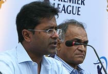 Press conference on IPL bidding