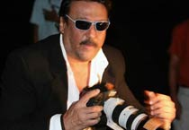 Jackie Shroff spotted at LFW