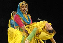 Uttrayan programme at Jawahar Kala Kendra, Jaipur