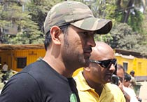 MS Dhoni at the BCCI headquarters