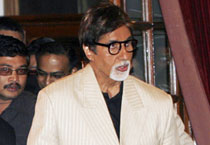Big B attends campaign to save tigers