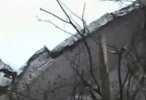 First visuals of Russia plane crash