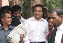 Anil Ambani at SC for gas row hearing