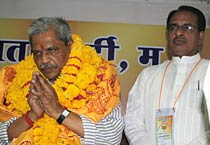 Prabhat Jha is MP BJP prez
