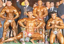Body building championship in Ajmer