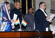 S.H. Kapadia sworn in as new CJI