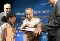 Pranab, Chidambaram address CII's annual meet