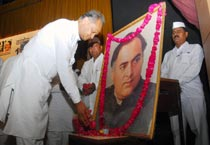 Rajasthan Cong leaders remember Rajiv