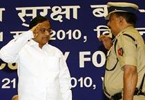 Chidambaram attends BSF's investiture ceremony
