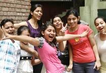 Class X students celebrate success