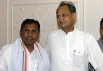 Ashok Gehlot holds review meeting