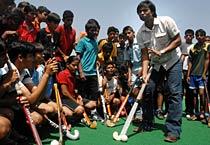 Dilip Tirkey turs coach for kids