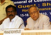 Mukherjee addresses press conference