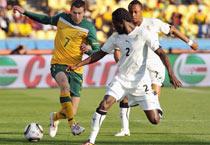 Australia, Ghana play 1-1 draw