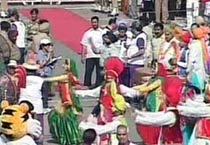 Queen's baton reaches India