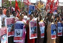 Chennai: Luke warm response to Bharat bandh