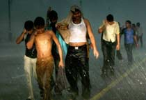 Rains lash Delhi, 8 dead