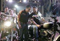 Harley Davidson comes to Delhi