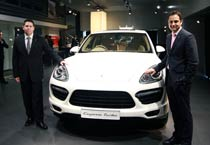 Cayenne Turbo launched in India