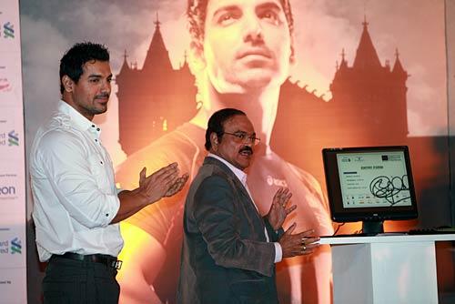 Inauguration of Mumbai Marathon online registration