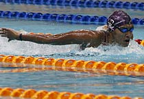CWG test swimming event held