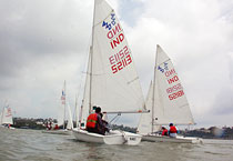 Sailing championship in Bhopal