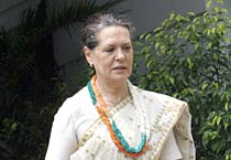 Sonia Gandhi files nomination for the Congress prez post