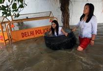 Yamuna overflows in Delhi
